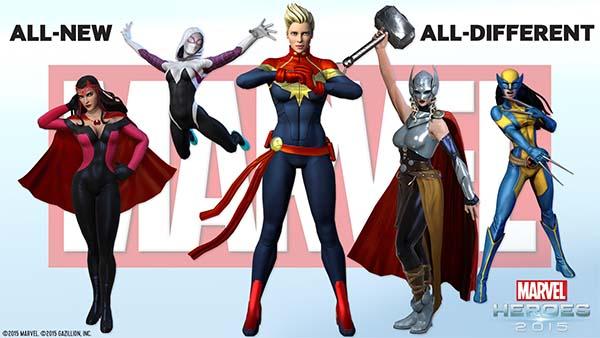 Bild:Gazillion enthüllt, was die Marvel Heroes 2016 erwartet