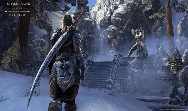 Bild:Orsinium, DLC-Spielerweiterung für The Elder Scrolls Online: Tamriel Unlimited