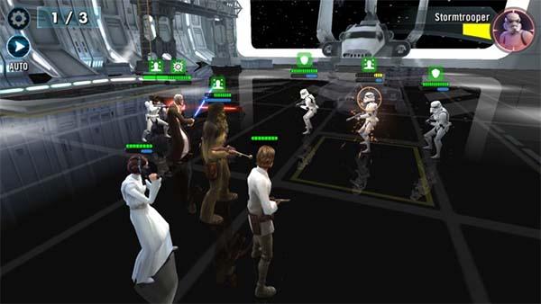 Bild:Star Wars: Galaxy of Heroes ab sofort für Mobilgeräte erhältlich