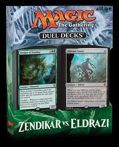 Bild:Magic: The Gathering Zendikar vs. Eldrazi​