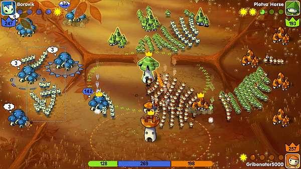 Bild:Mushroom Wars: Quirlige Action