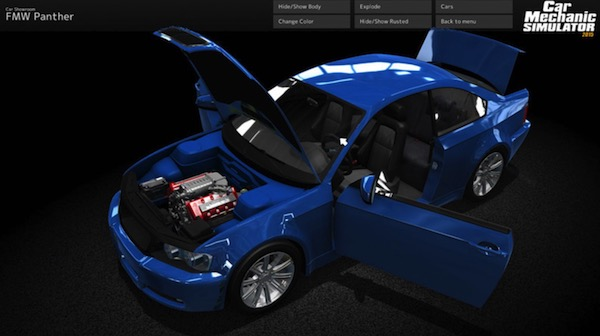 Bild:Auto-Werkstatt-Simulator 2015