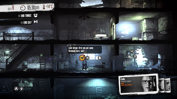Bild:This War of Mine: The Little Ones (PS4)​