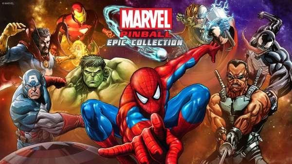 Bild:Marvel Pinball Epic Collection: Volume 1 erhältlich