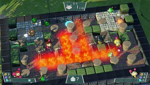 Bild:Super Bomberman R - neue Screens des Nintendo Switch Launchtitels