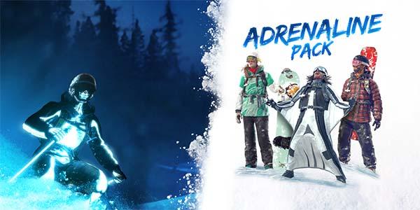 Bild:Adrenalin-Paket, der erste DLC für Steep