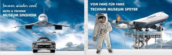 Bild:Die Technik Museen Sinsheim und Speyer starten in die neue Saison