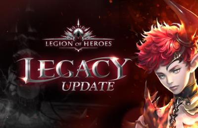 Bild:Großes Update für Legion of Heroes