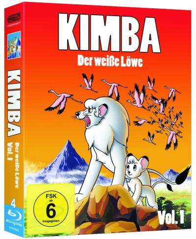 Bild:40 Jahre Kult: KIMBA, DER WEISSE LÖWE