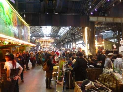 Bild:Bochum 4. Steampunk-Jahrmarkt 2018