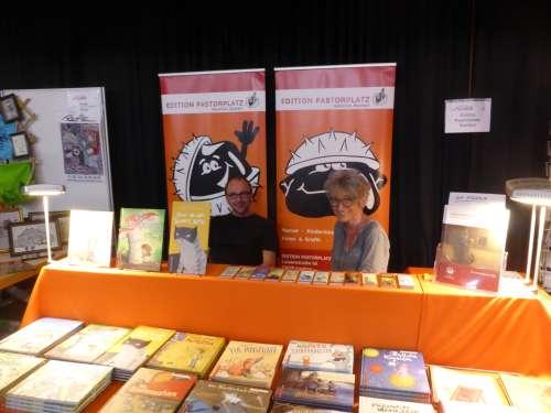 Bild:Buchmesse Nidderau 2018