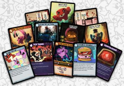 Bild:COLLECTABLE CARD GAME SUPER MEAT BOY: RIVAL RUSH