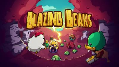 Bild:Blazing Beaks – a unique rogue-lite twin-stick shooter is quacking & tweeting its way to Nintendo Switch