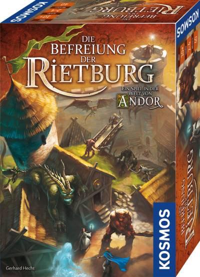 Bild:Die Befreiung der Rietburg: Kosmos präsentiert neues Abenteuerspiel in der Welt von Andor