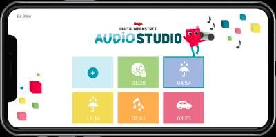 Bild:HABA Digitalwerkstatt veröffentlicht zweite App: Das Digitalwerkstatt Audio Studio