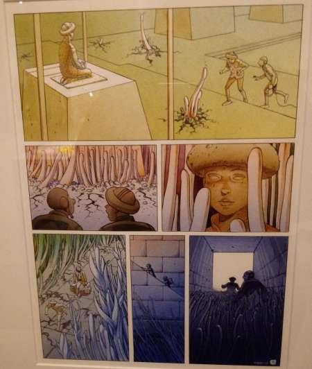 Bild:Der Comiczeichner Jean Giraud... oder besser: Mœbius