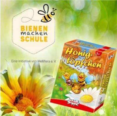 """Bild:""""Bienen machen Schule""""und AMIGO kooperieren"""