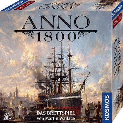Bild:Neues Kosmos Spiel für Kenner: Anno 1800