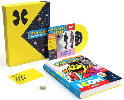 Bild:First-Ever Official History Book on PAC-MAN Available For Pre-Order