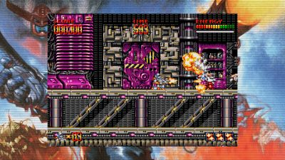 Bild:Turrican Flashback / Out - PS4 / Switch - Iconic European Classic Goes Global
