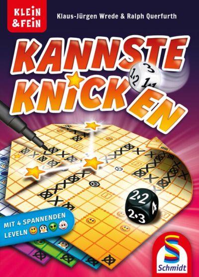 """Bild:Innovatives Roll &Write-Spiel von Schmidt: """"Kannste knicken"""""""
