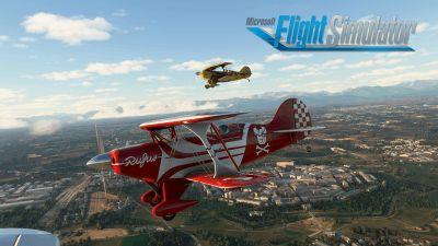 Bild:Microsoft Flight Simulator auf Xbox Series X|S verfügbar