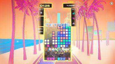 Bild:Tetris Beat is available exclusively on Apple Arcade